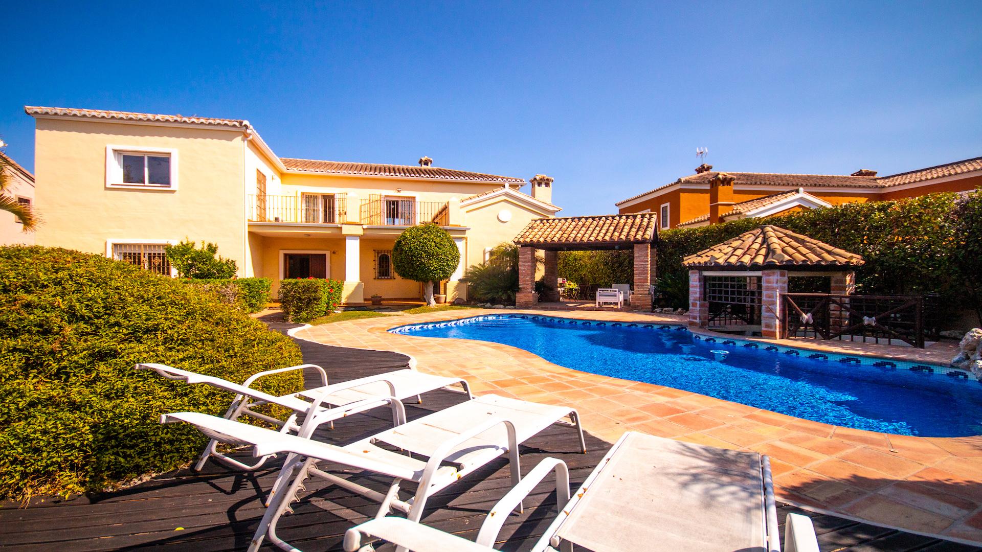 6 Bedroom Villa In Guadalmina For Rental : NOW RENTED